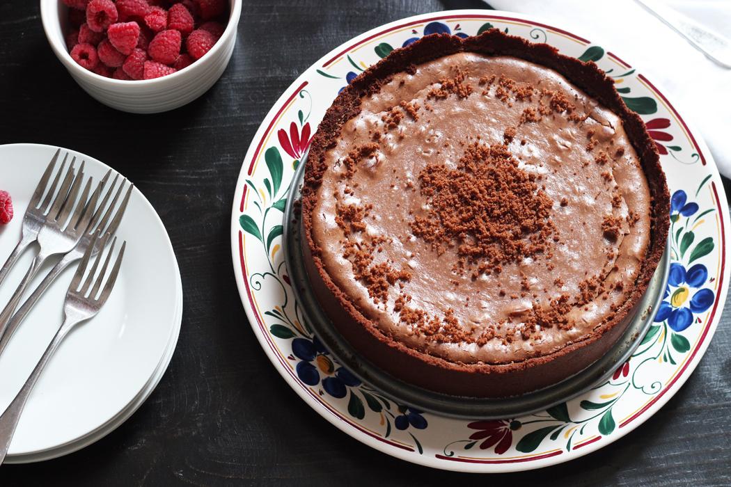 Chocolate Cheesecake Recipe | Life as Mom