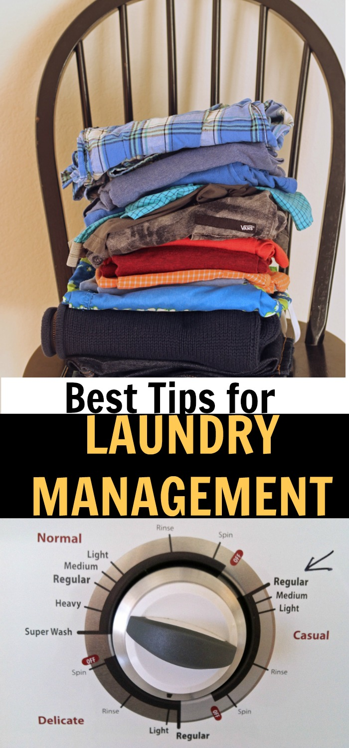 Best Tips for Laundry Management for Families | Life as Mom