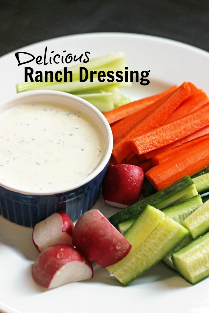 Delicious Ranch Dressing | Life as Mom