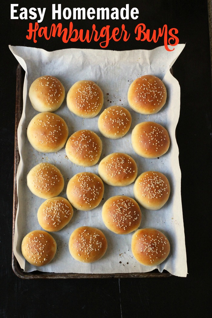 Homemade Hamburger Buns Recipe | Life as Mom