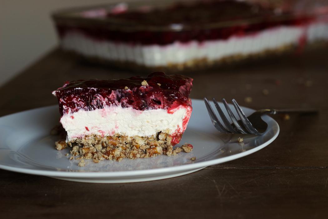 Pretzel Berry Dessert | Life as Mom