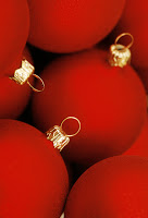 Christmas baubles --- Image by © Royalty-Free/Corbis