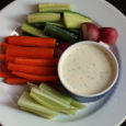 ranch and veggie platter