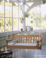 Swing on Porch ca. 2000