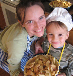 Gramma John's Blue Ribbon Apple Pie (Recipe Swap: Pie Oh My!)