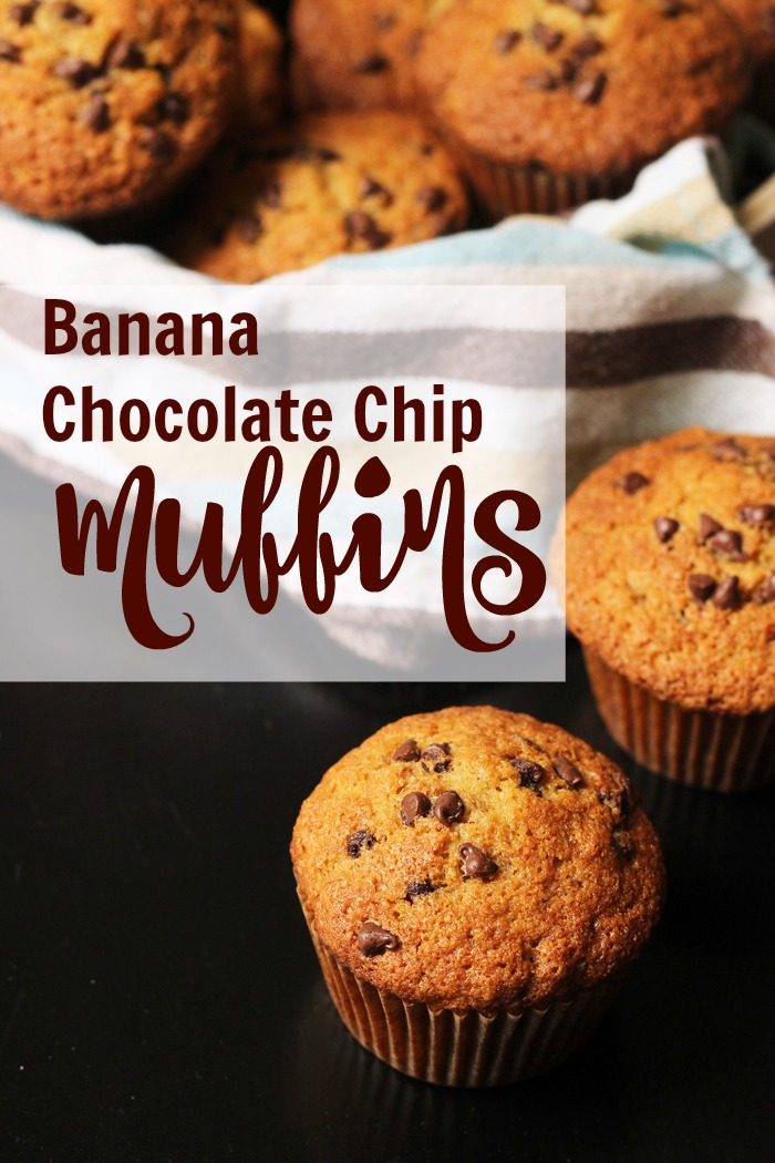 Banana Chocolate Chip Muffins Recipe | Life as Mom