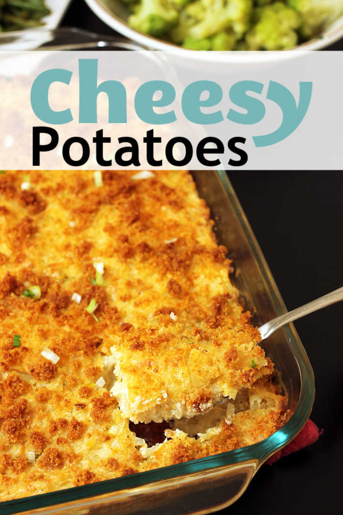 Cheesy Potatoes Casserole | Life as Mom