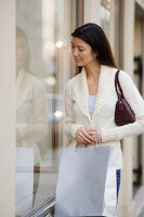 Woman Window Shopping --- Image by © Royalty-Free/Corbis