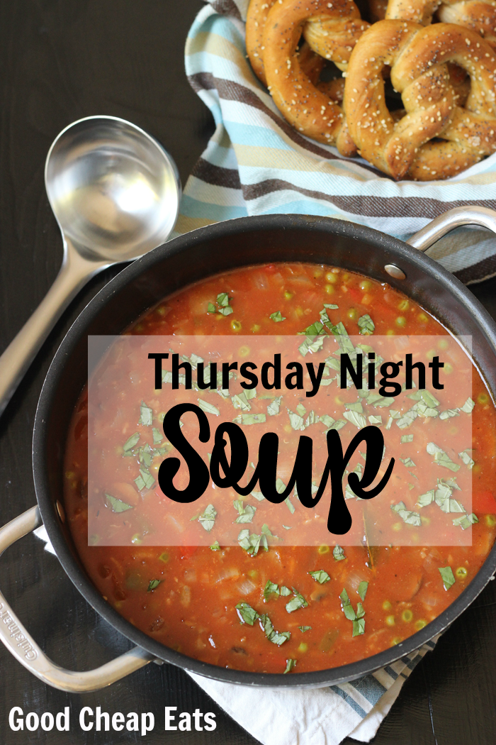 Thursday Night Soup | Life as Mom