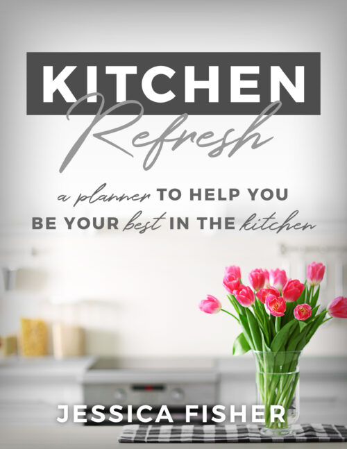 cover of Kitchen Refresh planner