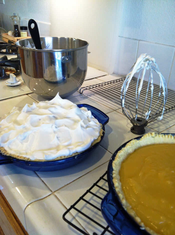 Lemon Meringue Pie | Life as Mom