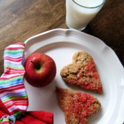 Maple-Oat Heart Scones – They Work for Me!