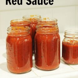 Homemade Red Sauce with Meats Life as Mom