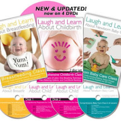 Laugh and Learn DVDs – Giveaway Winner