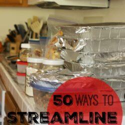 Streamline Your Life & Simplify