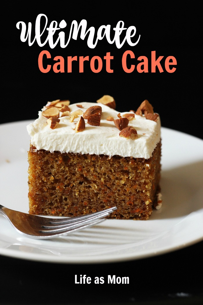 Ultimate Carrot Cake | Life as Mom