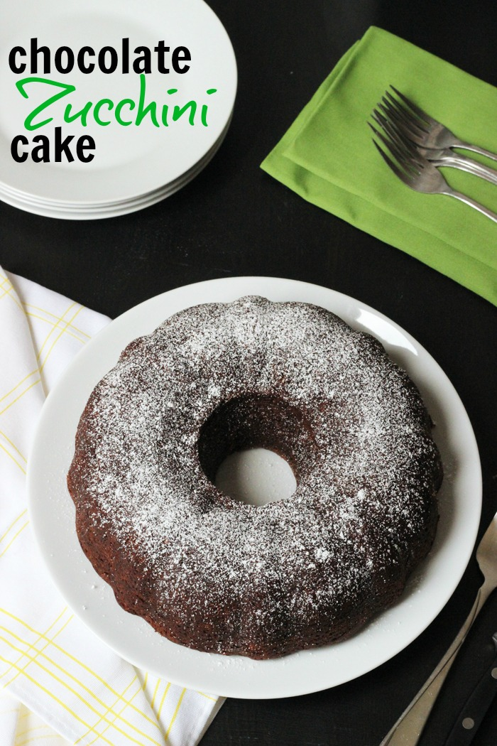 Chocolate Zucchini Cake | Life as Mom