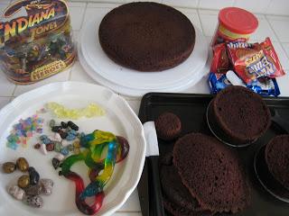 Another Indiana Jones Birthday Cake!