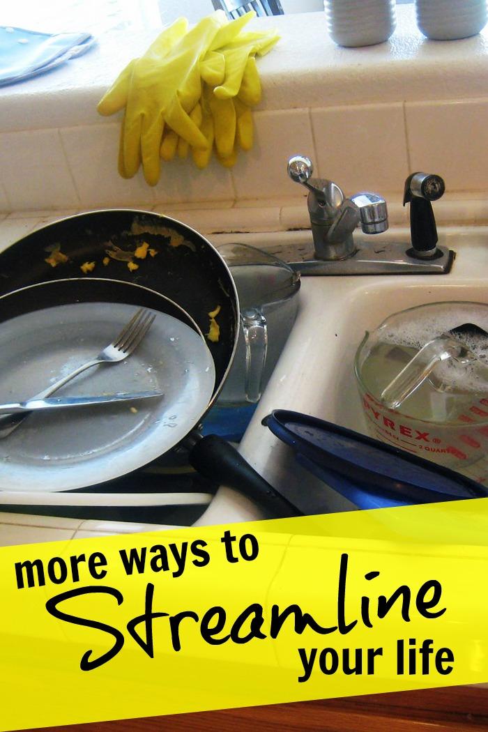 How to Streamline Your Life | Life Life as Mom