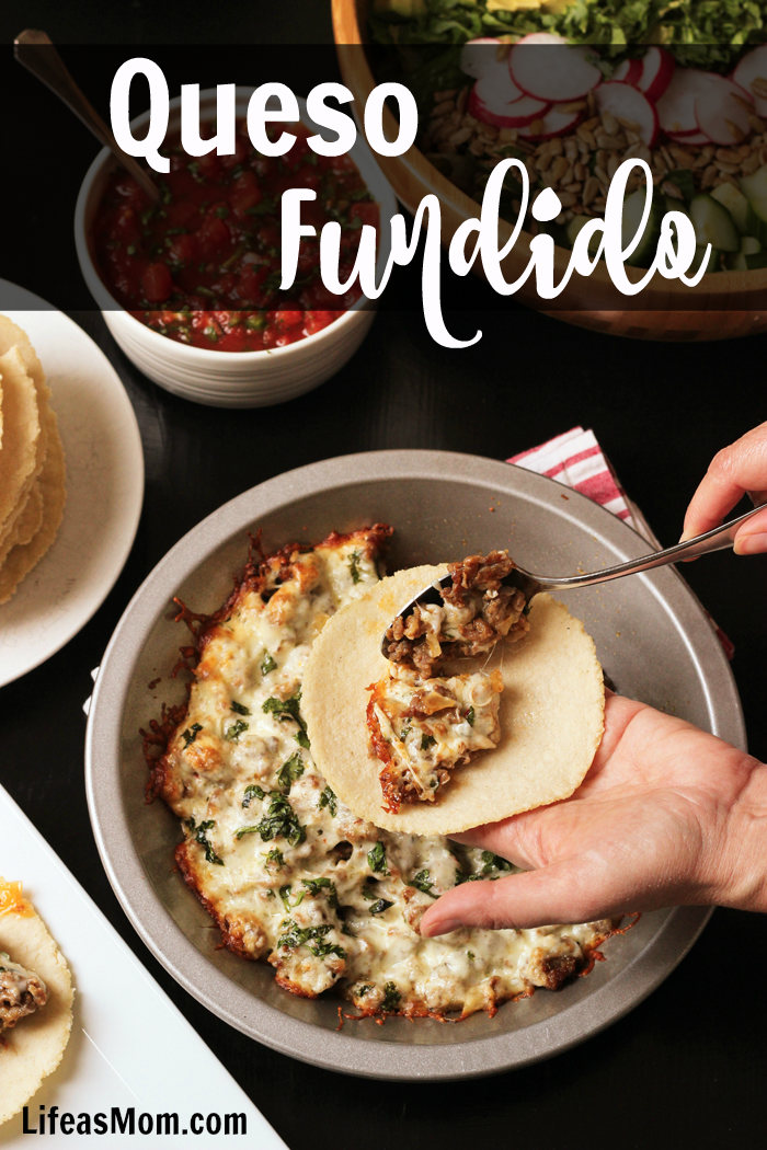 Queso Fundido Recipe | Life as Mom