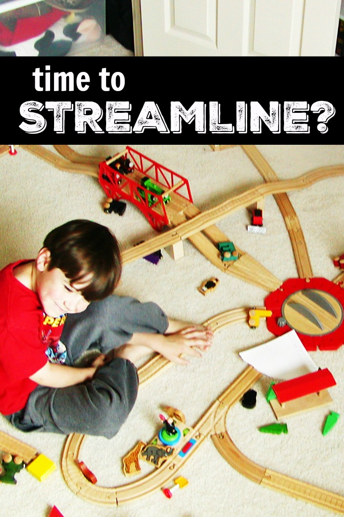 Time to Streamline? | Life as Mom