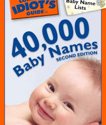 Giveaway: Complete Idiot's Guides to Baby Naming and Baby Signing