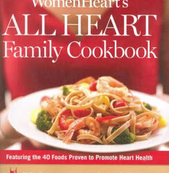 Book It! WomenHeart's All Heart Family Cookbook