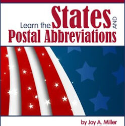 Win a Copy of Learn the States and Postal Abbreviations This Contest is Now Closed