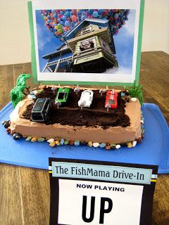 Magnificent Drive In Movie Theatre Birthday Cake And Birthday Cake Round Up Funny Birthday Cards Online Alyptdamsfinfo