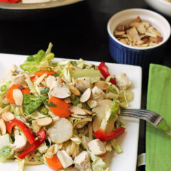 Asian Chicken Noodle Salad – Very Make-Ahead