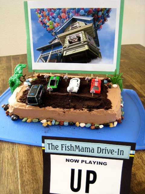 Fun Birthday Cake 952 A Drive In Movie Theatre Life As Mom
