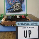Drive-In Movie Theatre Cake
