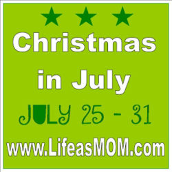 Christmas in July: Thinking Ahead