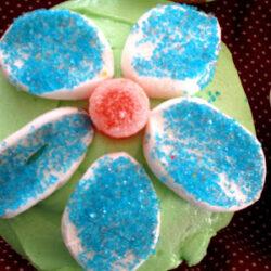 Creative Birthday Cake Idea: A Garden of Cupcakes