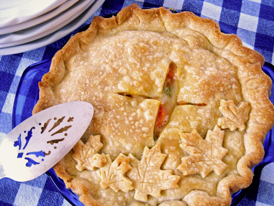 Chicken Pot Pie recipe from Jessica Fisher