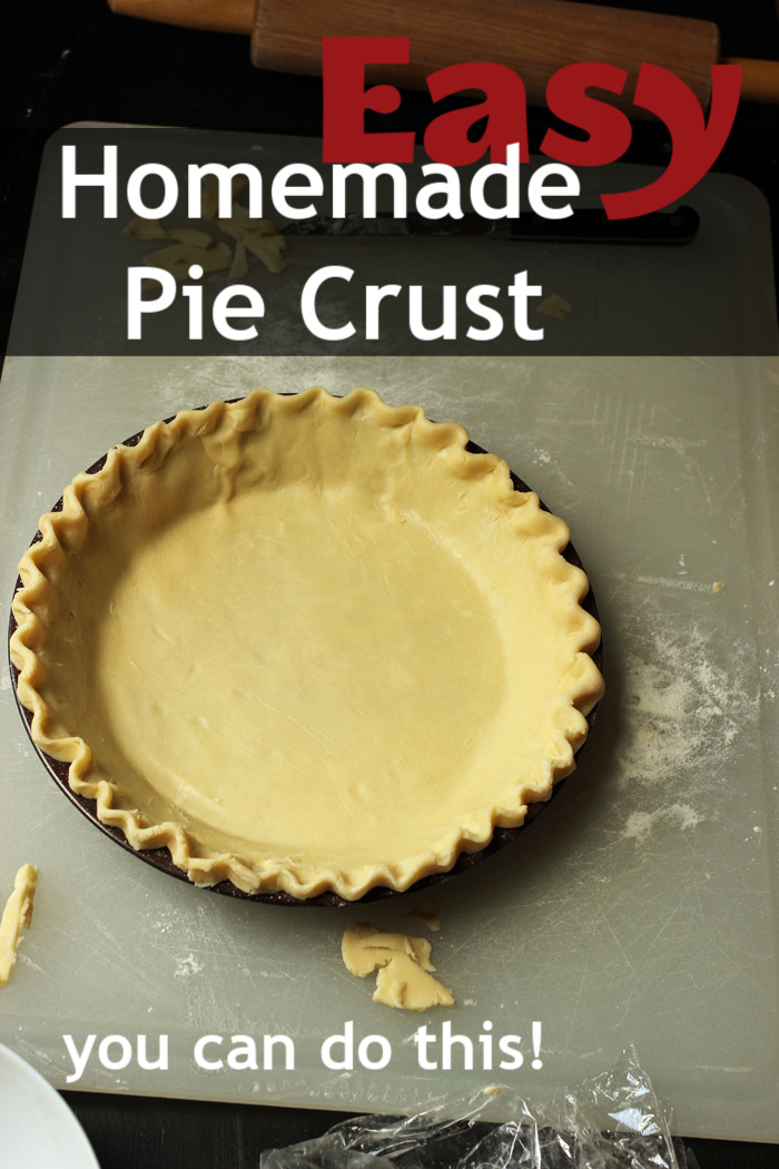 Easy Homemade Pie Crust | a recipe from Jessica Fisher