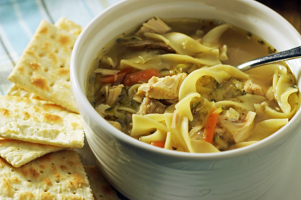 Homemade Chicken Noodle Soup Recipe from Jessica Fisher