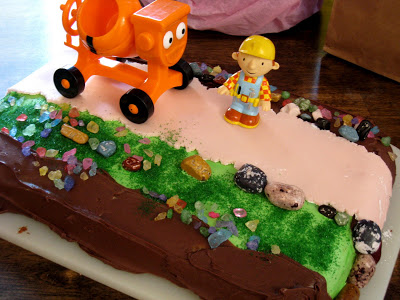 Fabulous Bob The Builder Birthday Cake Life As Mom Funny Birthday Cards Online Elaedamsfinfo