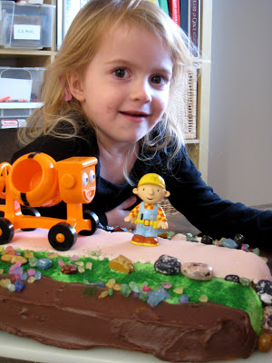 Miraculous Bob The Builder Birthday Cake Life As Mom Funny Birthday Cards Online Elaedamsfinfo