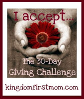The 30-Day Giving Challenge
