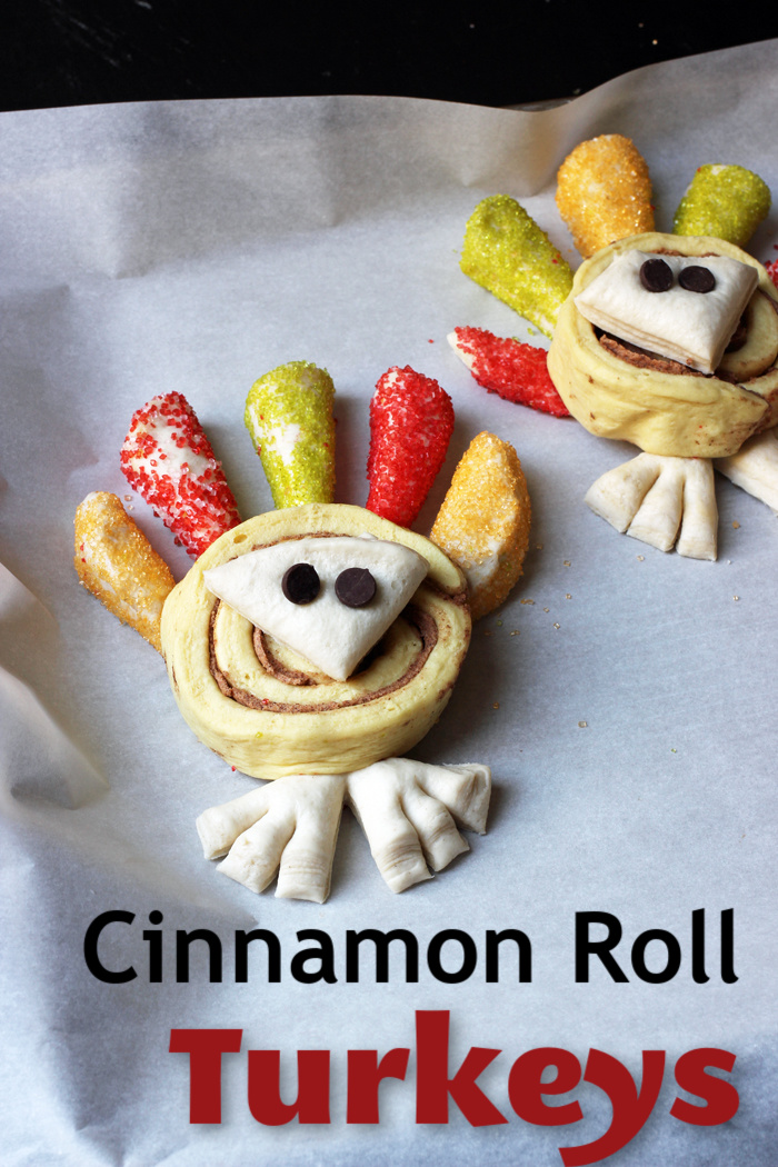 Cinnamon Roll Turkeys | Life as Mom