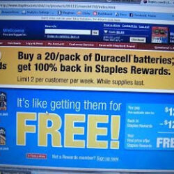 Free Batteries! Pay Just a Wee Bit of Tax