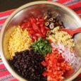 ingredients for southwest pasta salad
