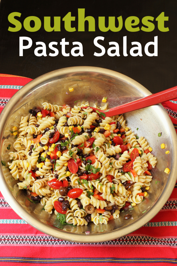 Southwest Pasta Salad | Life as Mom