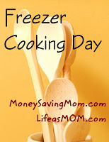 Freezer Cooking Day #2