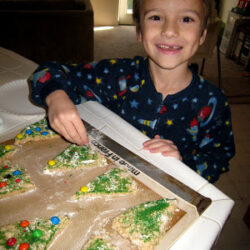 Make a Memory with Christmas Tree Scones