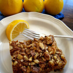 Lemon Walnut Coffeecake (Ultimate Recipe Swap: Healthier Eating)