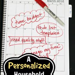 Personalized Household Notebook  Life as Mom