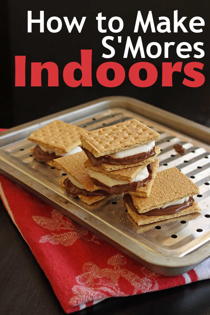 How To Make Easy S Mores Indoors Make S Mores In The Oven