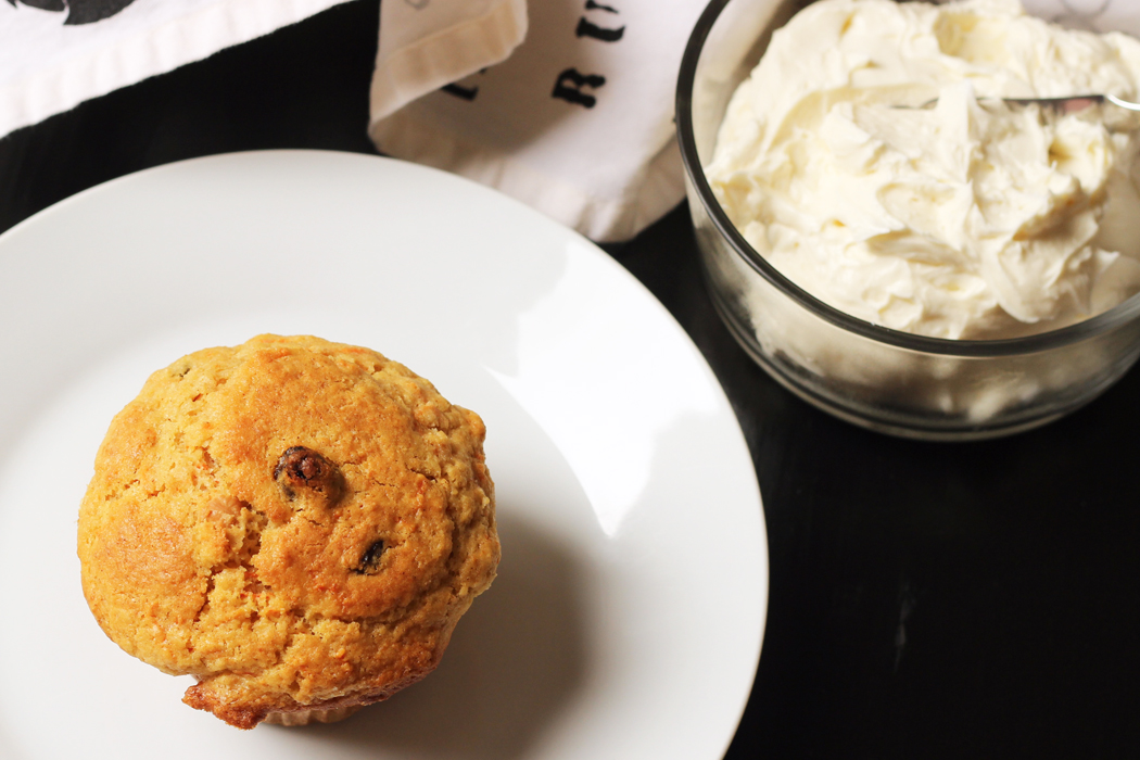 Carrot Muffins with Honey Cream Cheese | Life as Mom